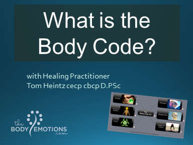 What is the Body Code with Tom Heintz