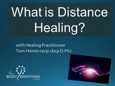Distance Energy Healing with Tom Heintz