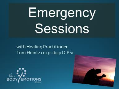 Emergency Sessions with Tom Heintz