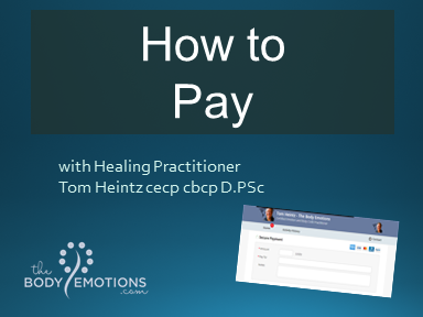 How to pay for a session with Tom Heintz