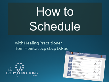 How to Schedule a session with Tom Heintz