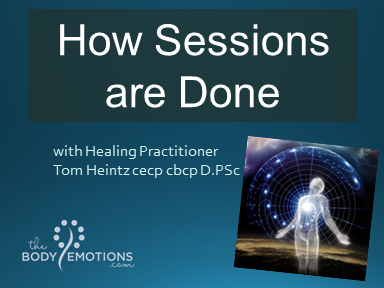 How Sessions are Done with Tom Heintz